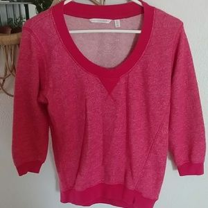 Victoria's Secret Cropped Sleeve Sweatshirt